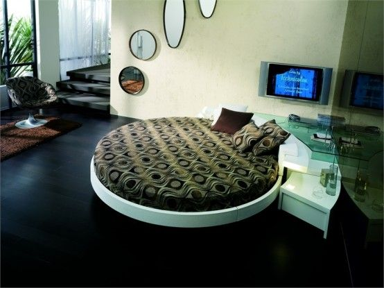 Contemporary-round-bedroom-furniture