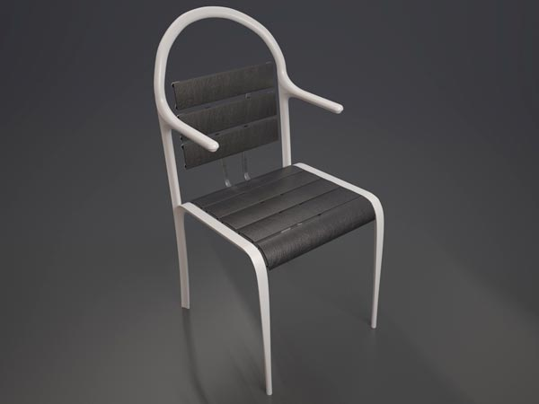 Pion Front The Pion Chair by Aleksandr Shnayder
