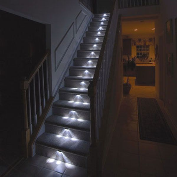 Light Up Your Stairway Freshome