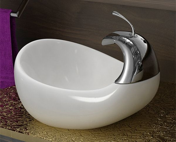 amin unique vessel sinks 2 Bathroom Sinks from Amin Design