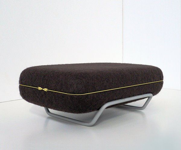 Eclosion Sofa, Couch with a Zipper