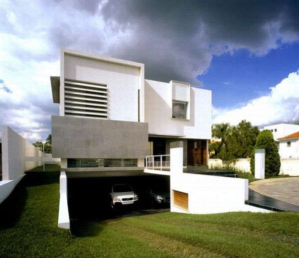 house with two courtyards 3 554x4792 Family House in Guadalajara   Amazing Architecture and Interior Design