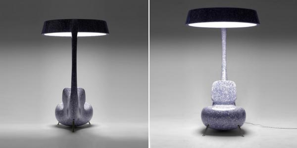 Gentil Light Up Furniture : Inspired By A Sea Creature