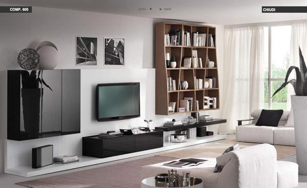 Interior sweet design modern living room decorating ideas for Clean modern living room