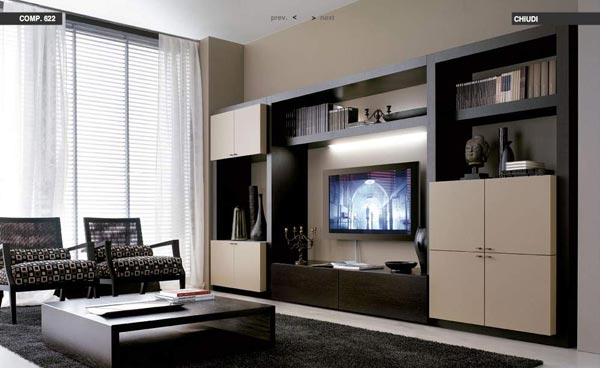 modern living rooms inspiration Modern Living Room Decorating Ideas from Tumidei