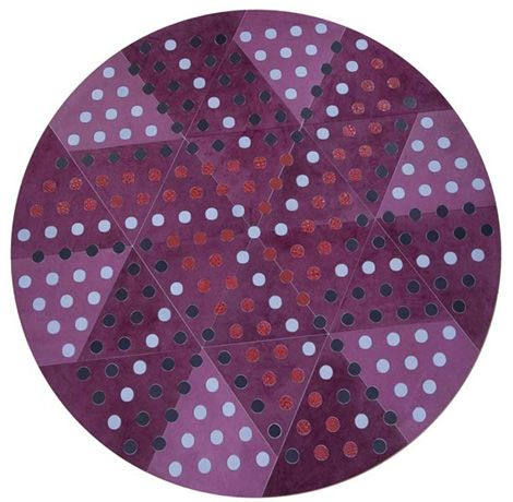 pacha mama carpet eclipse 41 Dots Leather Carpets from Eclipse