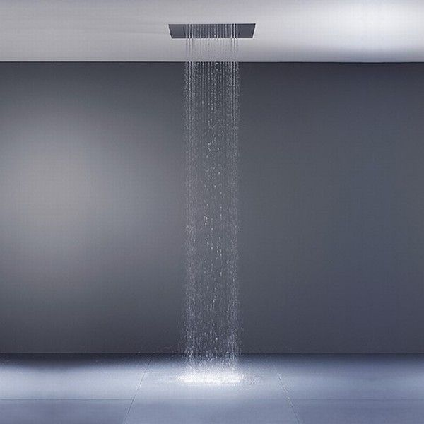 big rain shower from dornbracht bathroom shower designs