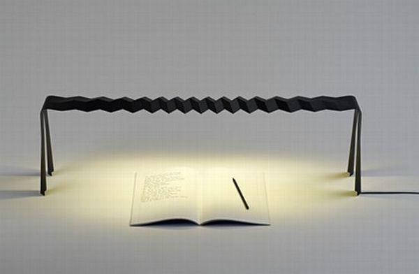 Slim&Strong Lamp, an Interesting Diploma Project