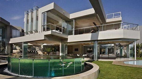 the glass house in africa freshome com rh freshome com Big Houses Inside Big Glass Houses at Night