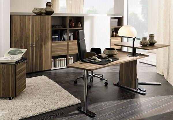 huelsta modern wood home offices 10 Home Offices Ideas from  Huelsta
