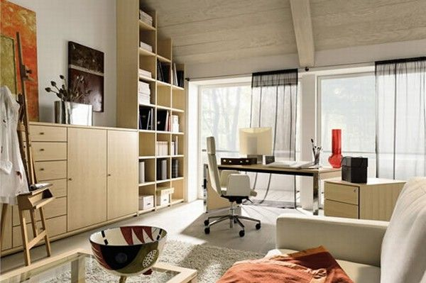huelsta modern wood home offices 4 Home Offices Ideas from  Huelsta