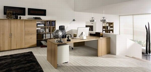 huelsta modern wood home offices 7 Home Offices Ideas from  Huelsta