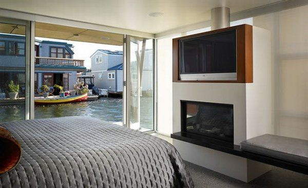modern floating home 6 554x366 Floating House in Seattle