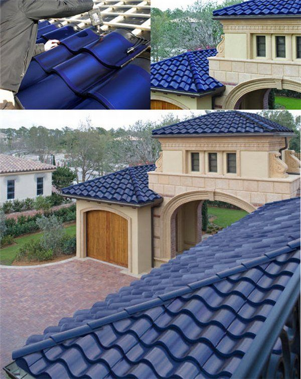 solartiles1 - Blue Solar Tiles, Looks And Sustainability
