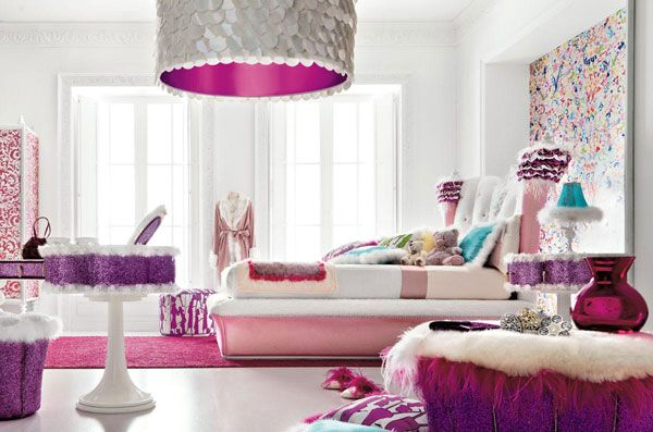 Charming and opulent Pink girls room Altamoda Girl 6 Beautiful Little Girls Bedroom with a Fairy tale Ambiance