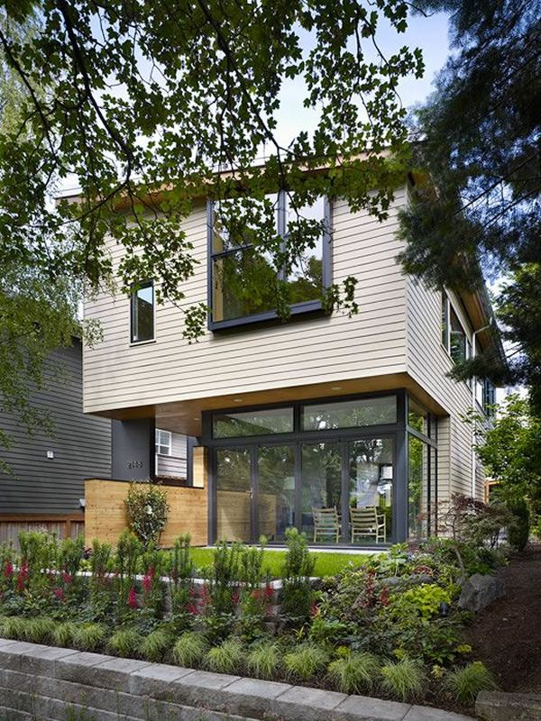 Contemporary Wall House in Seattle 2