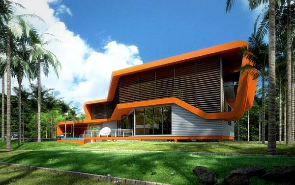 Modular Eco House in Malaysia by Broadway Malyan