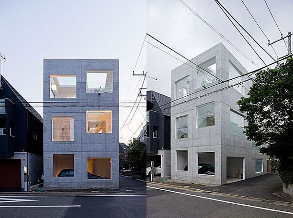 Minimalist House H in Tokyo by Sou Fujimoto Architects