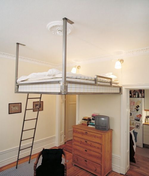 Compact living ideas lofted beds alternative - Bed alternatives for small spaces pict ...