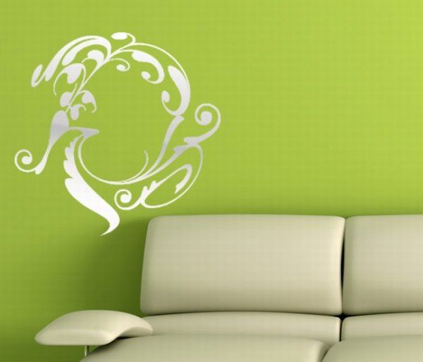 One of the most Beautiful wall stickers Mirror Stickers 15 5 Amazing Mirror Decorating Stickers