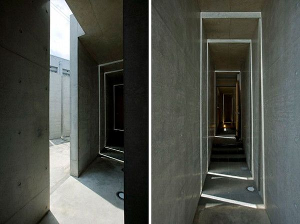"""Slit House in Japan 10 House of Shades and No Windows : """"Slit"""" from Eastern Design Office"""