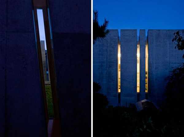"""Slit House in Japan 3 House of Shades and No Windows : """"Slit"""" from Eastern Design Office"""