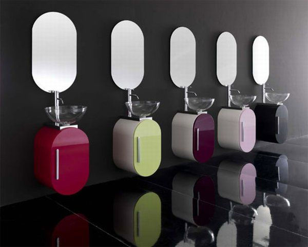 colorful bathroom collection flux - Color and Creativity