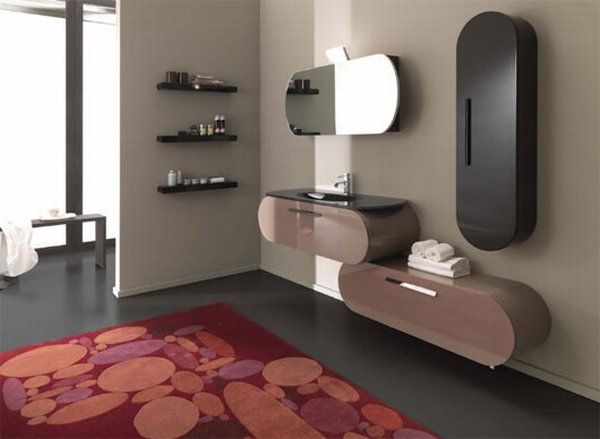 colorful bathroom collection flux12 - Color and Creativity