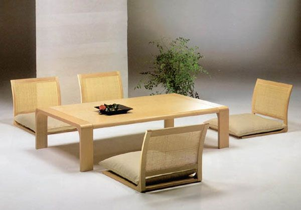 Classical Japanese Dining Room Furniture
