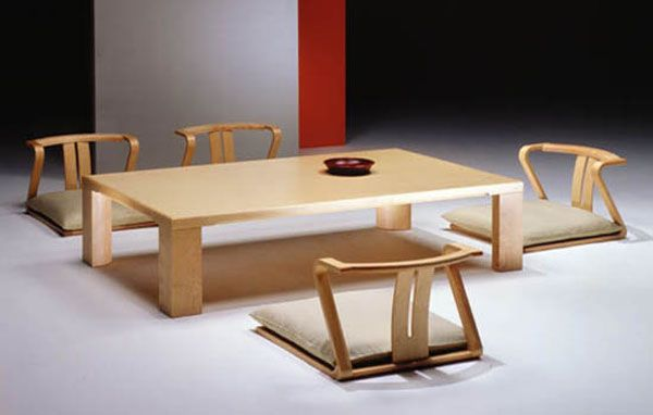 Japanese Dining Room Furniture For A Minimalist Japanese Style