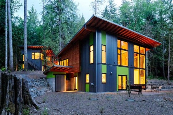 Shell-Wheeler House : A Sustainable Private Residence by Johnston Architects