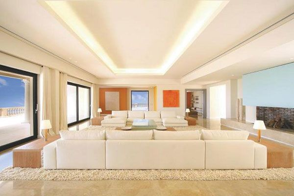 luxury property living room mallorca spain What Does A $75 Million Luxury House Look Like?