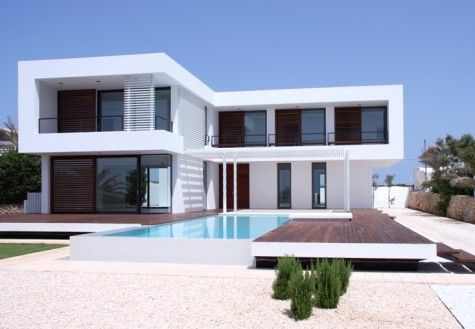 modern summer house Contemporary Summer House in Menorca
