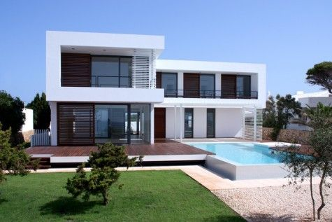 modern summer house2 Contemporary Summer House in Menorca