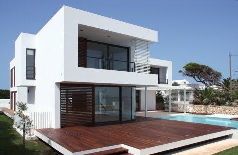 modern summer house3 Contemporary Summer House in Menorca