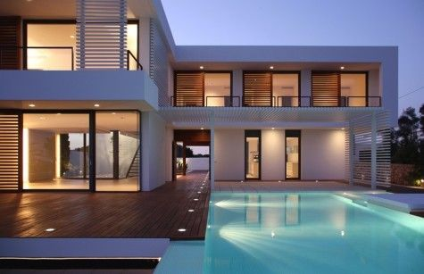 modern summer house7 Contemporary Summer House in Menorca
