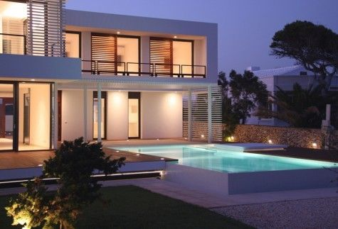 modern summer house9 Contemporary Summer House in Menorca