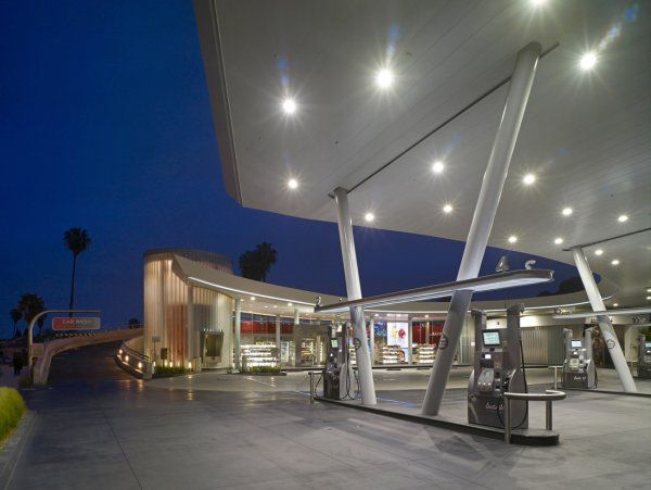 Amazing Gas Station Design From Kanner Architects