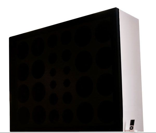 The Wall of Sound : The World's Biggest iPod Dock