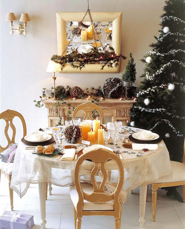 18 Christmas Dinner Table Decoration Ideas Freshome