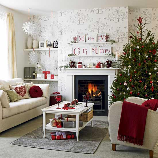 christmas tree decorations living 10 Beautiful Christmas Tree Decorating Ideas
