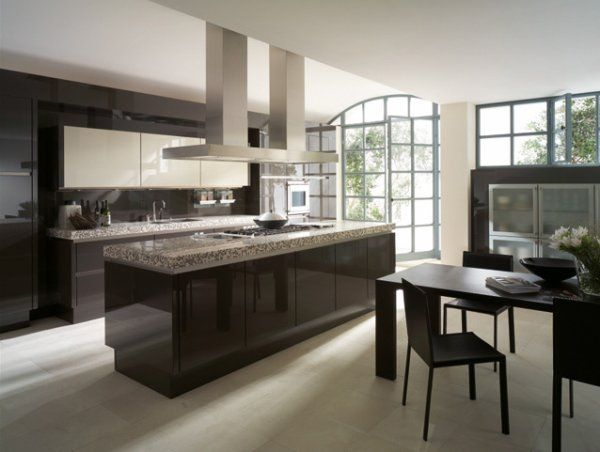 Best luxury kitchen interior design for Luxury contemporary kitchens