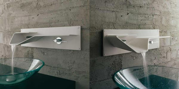 Arya Ultra Modern Bathroom Faucet From Bandini Freshome Com