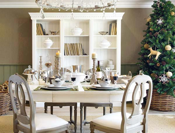 18 Christmas Dinner Table Decoration Ideas | Freshome.com