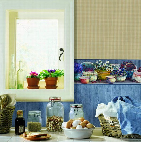 wallpaper kitchen ideas. Pretty Kitchen Wallpaper