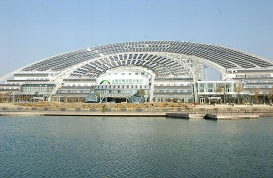 Largest Solar Powered Building in the World Unveiled in China