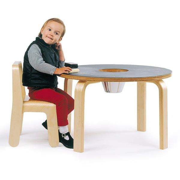 More Freedom For Kids Imagination With The Chalkboard Table