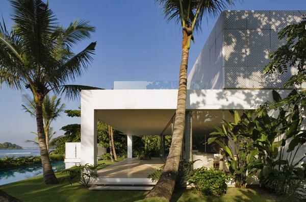 Iporanga house2 Exotic House in Brazil by Isay Weinfeld