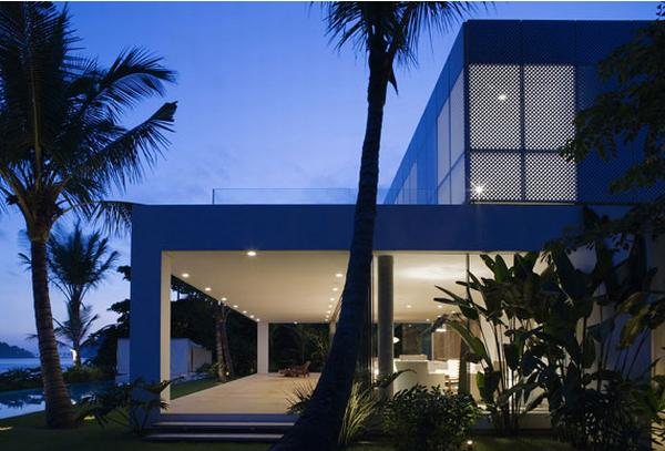 Iporanga house23h Exotic House in Brazil by Isay Weinfeld