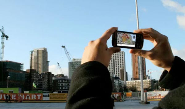 World's First Augmented Reality Architecture Application : Sara